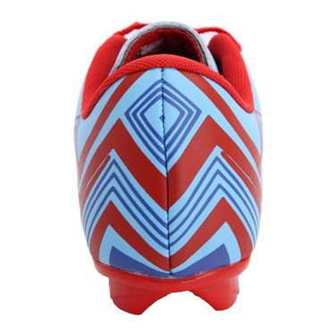 Mayor Sky Blue - Red Casilla Football Studs - 5