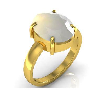 Kiara Jewellery Certified Moonstone 3.0 cts & 3.25 Ratti Moonstone Ring_Mosry