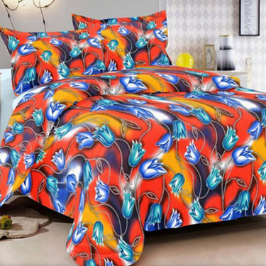 Set of 2 Valtellina Double Bedsheet With 4 Pillow Cover-MO045066