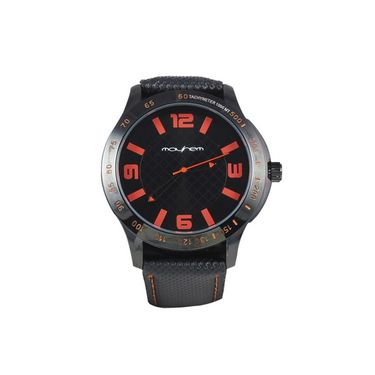 Mayhem Analog Round Dial Watch_Ma2901 - Black