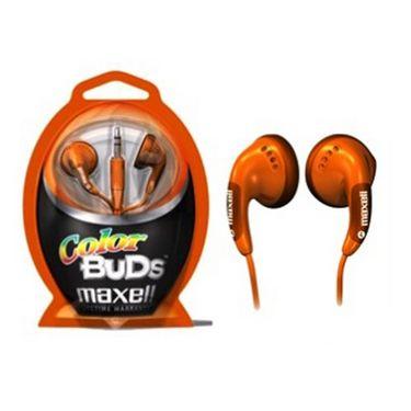 Maxell Colour Buds Stereo Inside Earphones - Set of 3