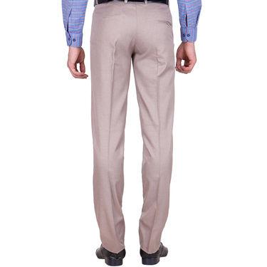 Tiger Grid Pack of 2 Cotton Formal Trouser For Men_Md025
