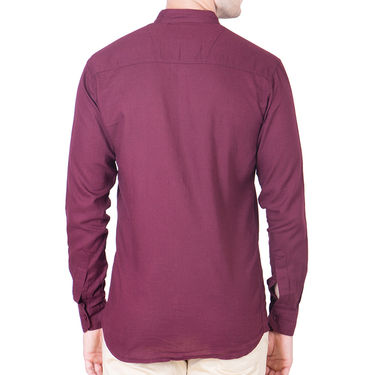 Cliths Cotton Shirts For Men_Md062 - Maroon