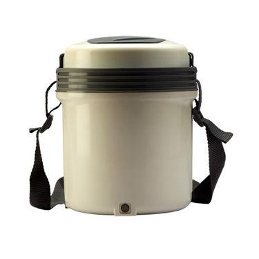 Milton Electron 3 Container Lunch Box - White