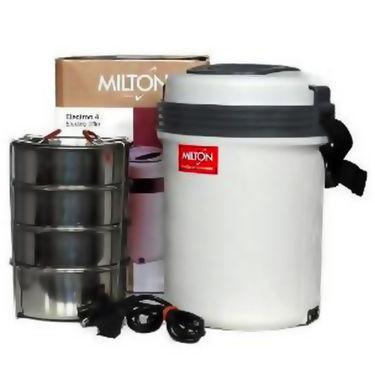 Milton Electron 4 Container Lunch Box - White