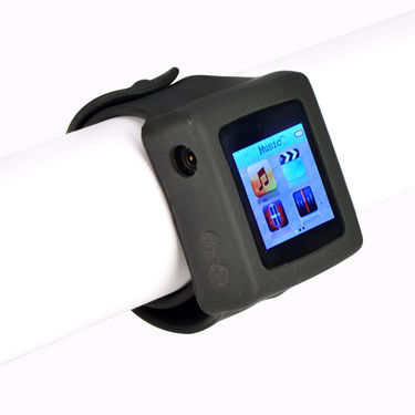 Branded MP4 Media Player cum Watch with Hand Strap
