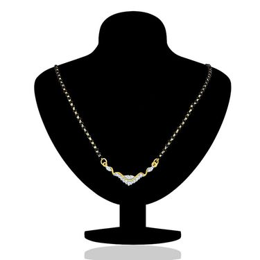 Mahi CZ Gold Plated Mangalsutra Set_Nl1101438g