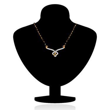 Mahi CZ Gold Plated Mangalsutra Set_Nl1101942g