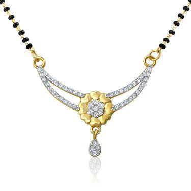 Mahi CZ Gold Plated Mangalsutra Set_Nl1106003g