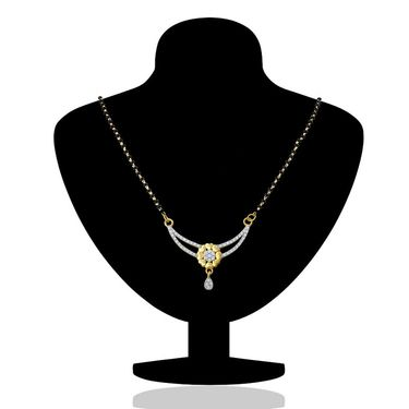Mahi CZ Gold Plated Mangalsutra Set_Nl1106003g