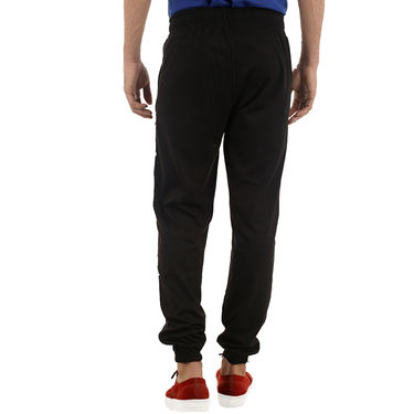 Comfortable Cotton Lowers For Men_Nplad8 - Black
