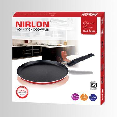 Nirlon Non-Stick Flat Tawa 30 cm_NR48003