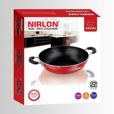 Nirlon Non Stick Classic Range Kadai 2.5  Ltr_NR48022