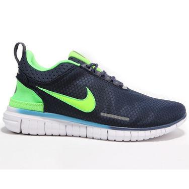 Nike Mesh Navy Blue Sports Shoes -os06