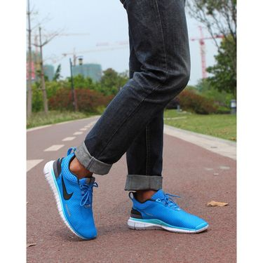 Nike Mesh Royal Blue Sports Shoes -os07