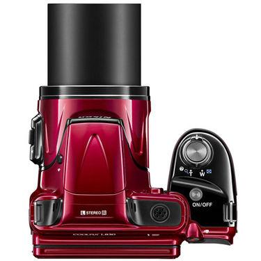 Nikon Coolpix L830 Digital Camera - Red
