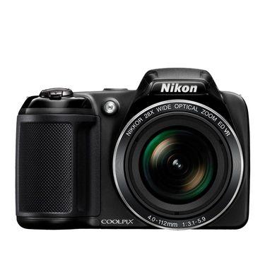 Nikon Coolpix L340 Compact Digital Camera - Black