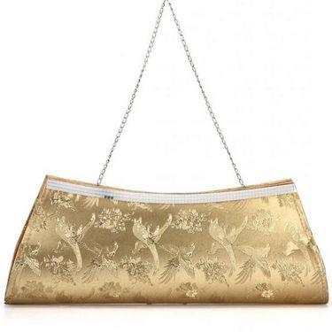 Oleva Silk Clutches hi71_Gold