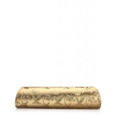 Oleva Silk Clutches hi79_Gold