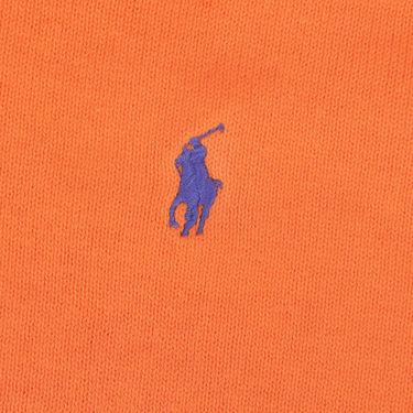 Branded Regular Fit Cotton Sweater_Os09 - Orange
