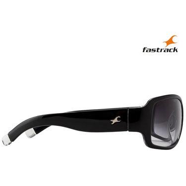 Fastrack Wayfarer Sunglasses For Unisex_P089bk1 - Black