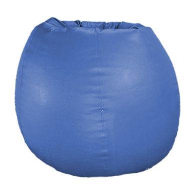 PSYGN Set of 2 Leatherette Standard Bean Bag Cover -  PBB200-BLUE_PURPLE