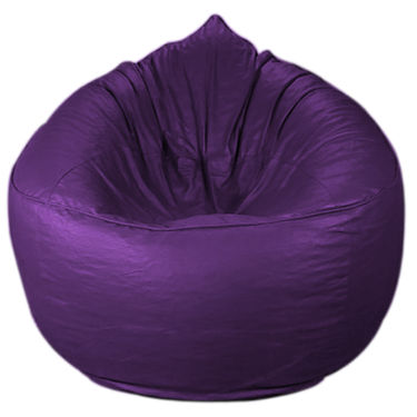 PSYGN Leatherette Sofa Bean Bag -  PBB202-PURPLE-XXXL