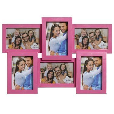 Pink Collage Photoframe to Cherish Memories
