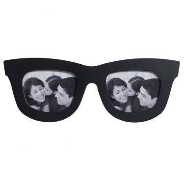 Shades Shape Stylish Black Collage Photo Frame