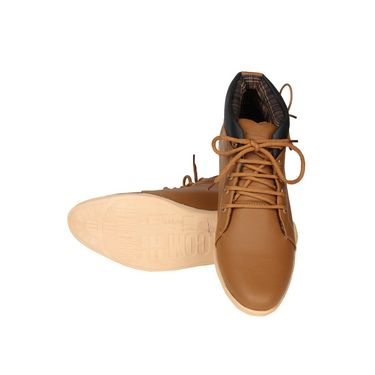 Pede Milan Faux Leather Casual Shoes PM-ASD-1552-Tan