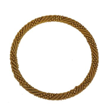 Pack of 4 Pourni Bangles Set_PRBG13 - Golden