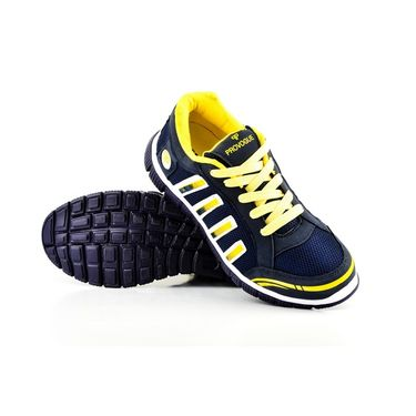 Provogue Mesh Sports Shoes PV1058-Navy & Yellow