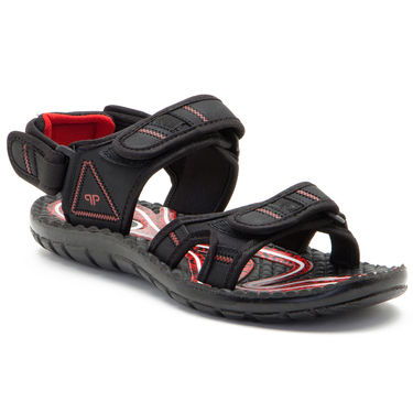 Provogue Mens Floater Sandals Pv1084-Black