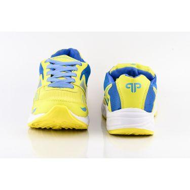 Provogue Mesh Sport Shoes Pv1094-Yellow & Sky-40