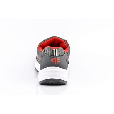 Provogue Mesh Sport Shoes Pv1095-Dk.Grey & Red-40