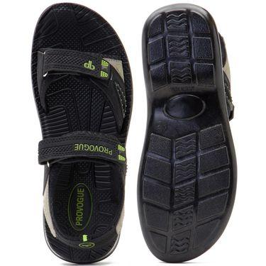 Provogue Mens Floater Sandals Pv1105-Black