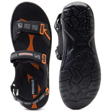 Provogue Mens Floater Sandals Pv1106-Black