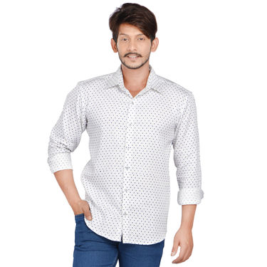 Pack of 2 Premium Printed Casual Shirts And Denim by American Indigo