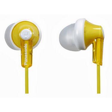 Panasonic RP-HJE118E-Y In-Ear Earphone - Yellow