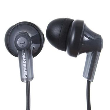 Panasonic RP-HJE120E-K In-Ear Canal Earphone for iPods,MP3