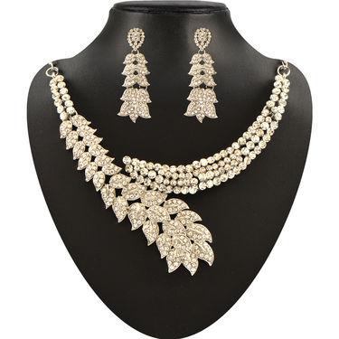 Parasmani 1 Gram Gold Plated 14 Jewellery Sets - AKSO