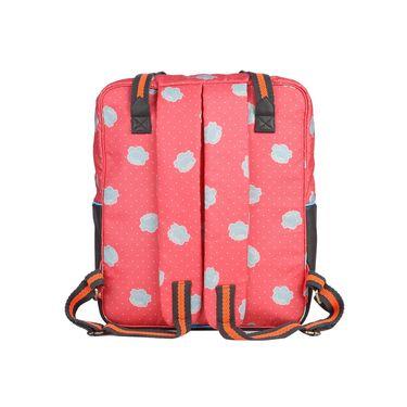Be for Bag Canvas Backpack Orange -Penata