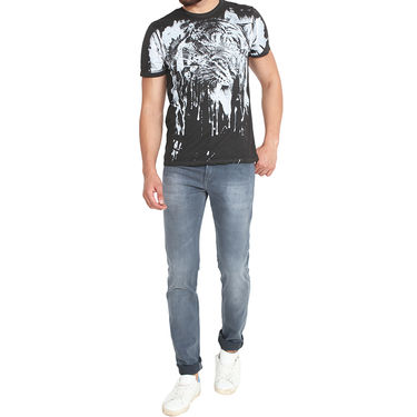 Pepe Slim Fit Cotton Jeans For Men_Pg - Grey