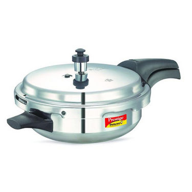 Prestige Deluxe Plus Aluminium Junior Pressure Pan with Lid (Induction Based)