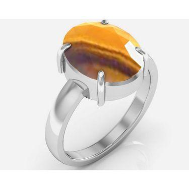 Kiara Jewellery Certified Quartz 3.0 cts & 3.25 Ratti Quartz Ring_Qzrw