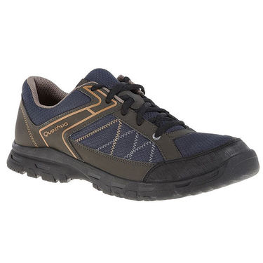 Quechua Hiking Black Shoes - 8.5 UK