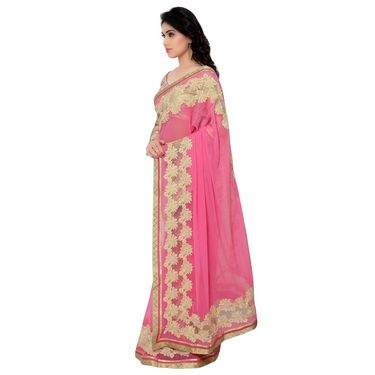 Indian Women Chiffon Printed Saree -RA10619