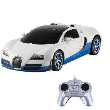 Bugatti Veryon 16.4 Grand 1:24 Remote Control Toy Car Model - White
