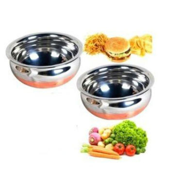 Combo Of Detak Sandwich Maker With Hand Blender & 2 Copper Based Handi Set