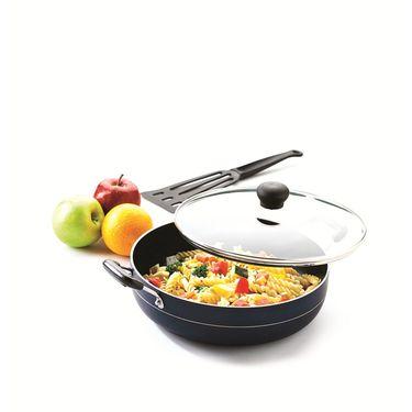 RECON MasterChef Non Stick Multi Pan with Glass Lid 275mm (3.08ltr)_RMGMP275